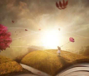 immagine fantastica con libri