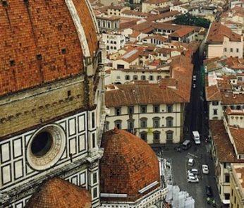 Scorcio laterale del Duomo di Firenze