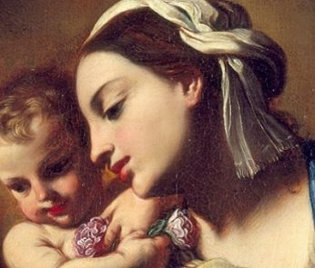 Madonna col Bambino e San Giovannino di Elisabetta Sirani agli Uffizi