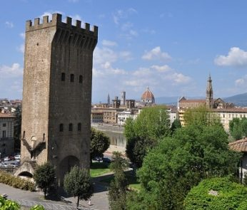 Panorama di Firenze con Torre San Niccolò