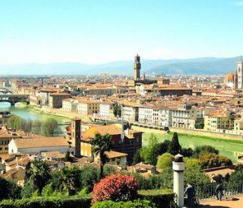 Panorama di Firenze dal Piazzale Michelangelo