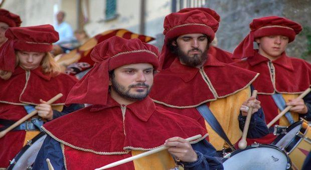 parata festa medioevale Malmantile