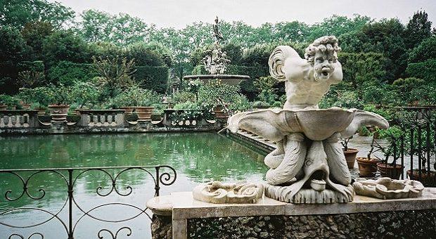 Fontana del Nettuno, Firenze, Boboli
