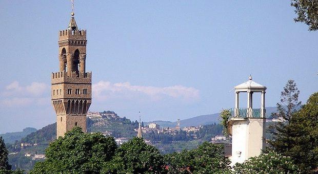 Panorama di Firenze dall'alto