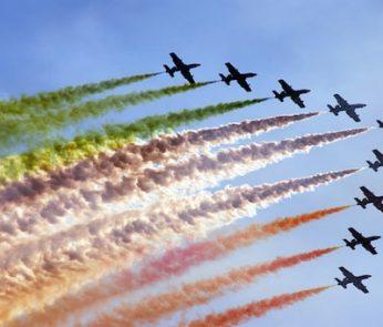 Frecce Tricolore a Firenze per la festa del 2 giugno