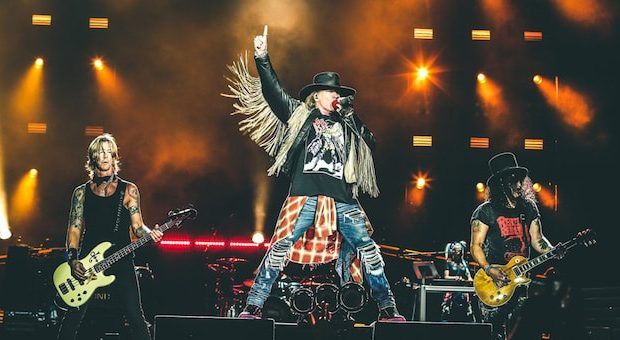 Guns N' Roses in concerto