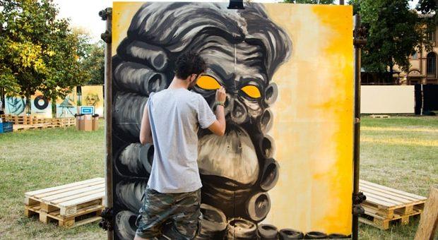 graffiti al copula mundi festival