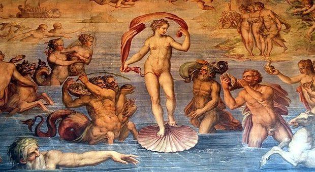 Sala degli elementi in Palazzo Vecchio a Firenze
