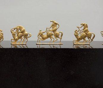 Paarungsspiele, Zwei Kentauren di Fritz Koenig