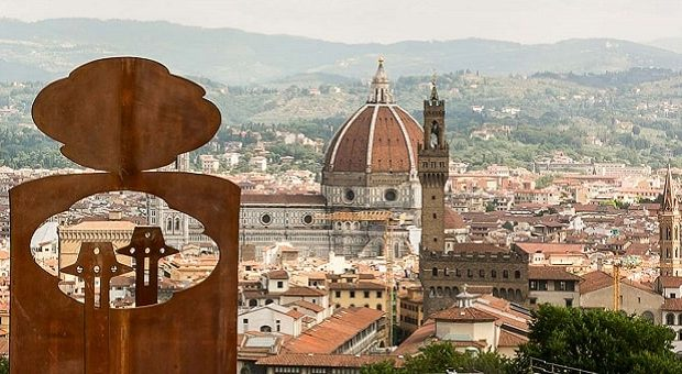 Le opere di Eliseo Mattiacci a Firenze