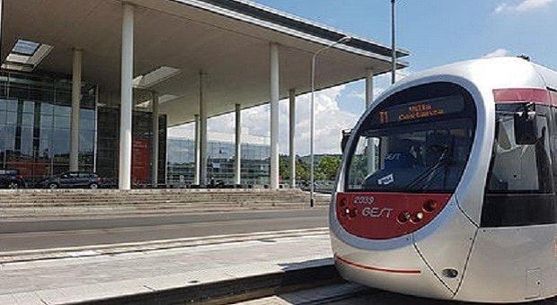 La linea T1 della tramvia