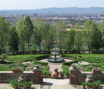 I giardini di Villa La Petraia