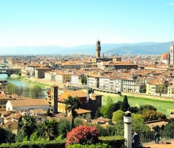 Firenze: panorama da Piazzale Michelangelo