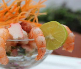 bocconcini di gamberetti e seafood