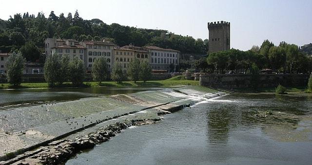 Pescaia di San Niccolò a Firenze