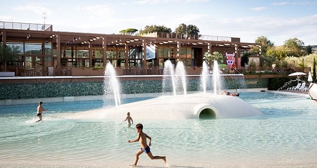 Watermania piscina Firenze Camping in Town