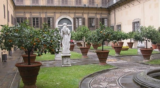 Cortile di Palazzo Medici Riccardi