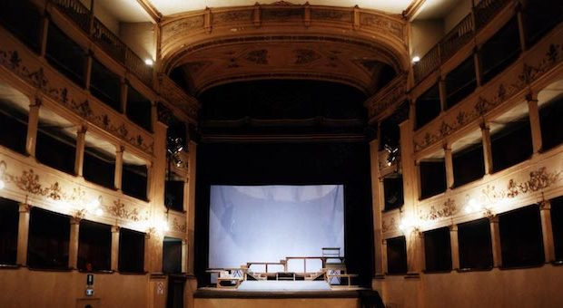 Teatro Niccolini palcoscenico