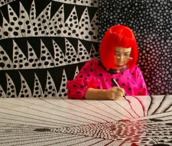 """Kusama Infinity"" di Heather Lenz"