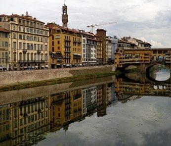 vista su Ponte Vecchio