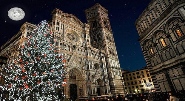 Firenze addobbata a Natale