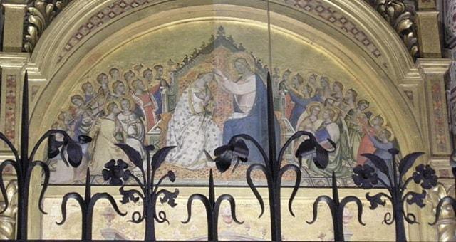 Particolare del Tabernacolo di Santa Maria della Tromba