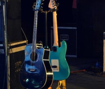 palco e chitarre