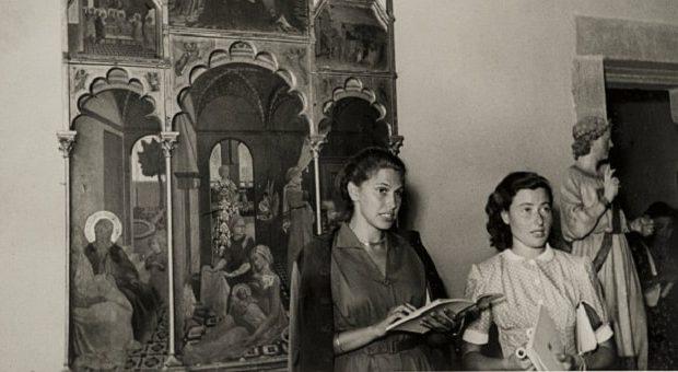 Paola Barocchi e Maria Fossi