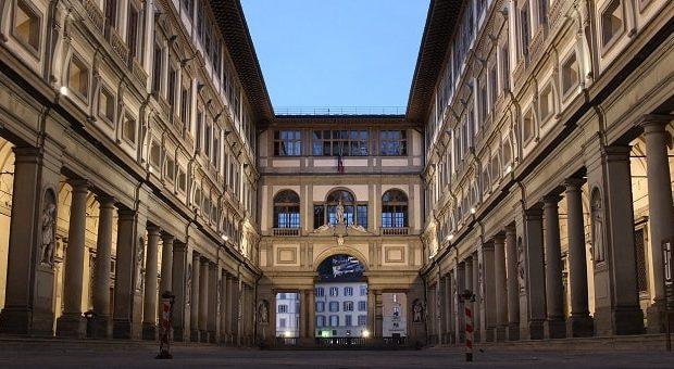 Gli Uffizi a Firenze