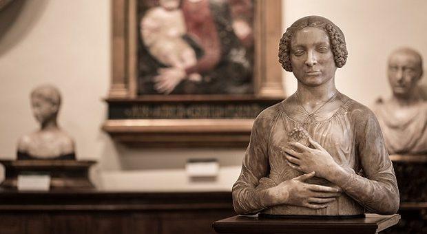 Dama col Mazzolino di Verrocchio