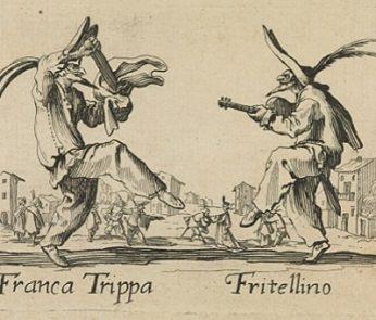 Franca Trippa e Fritellino di Callot