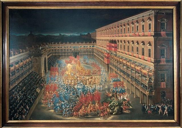 Carosello a Palazzo Barberini
