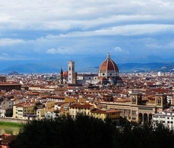 Vista su Firenze da Piazzale Michelangelo