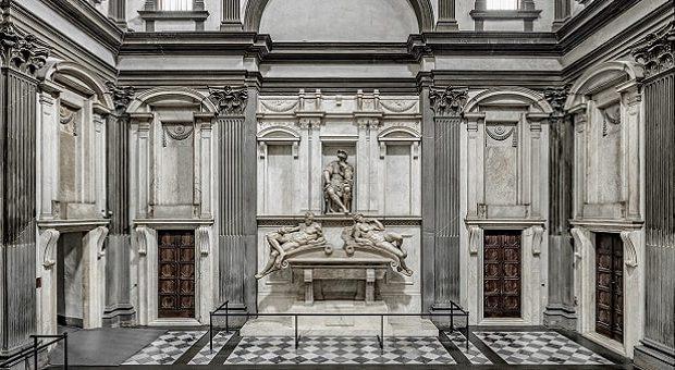 Sagrestia nuova, tomba Lorenzo de Medici