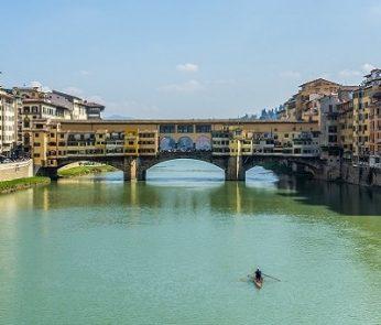 Arno e Ponte vecchio