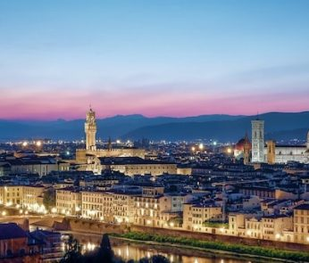 Tramonto a Firenze