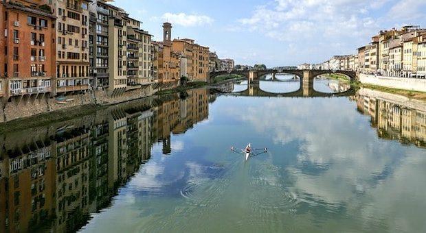 Firenze e fiume Arno