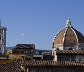 vista di Firenze dall'alto