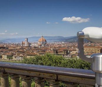veduta dal Piazzale Michelangelo